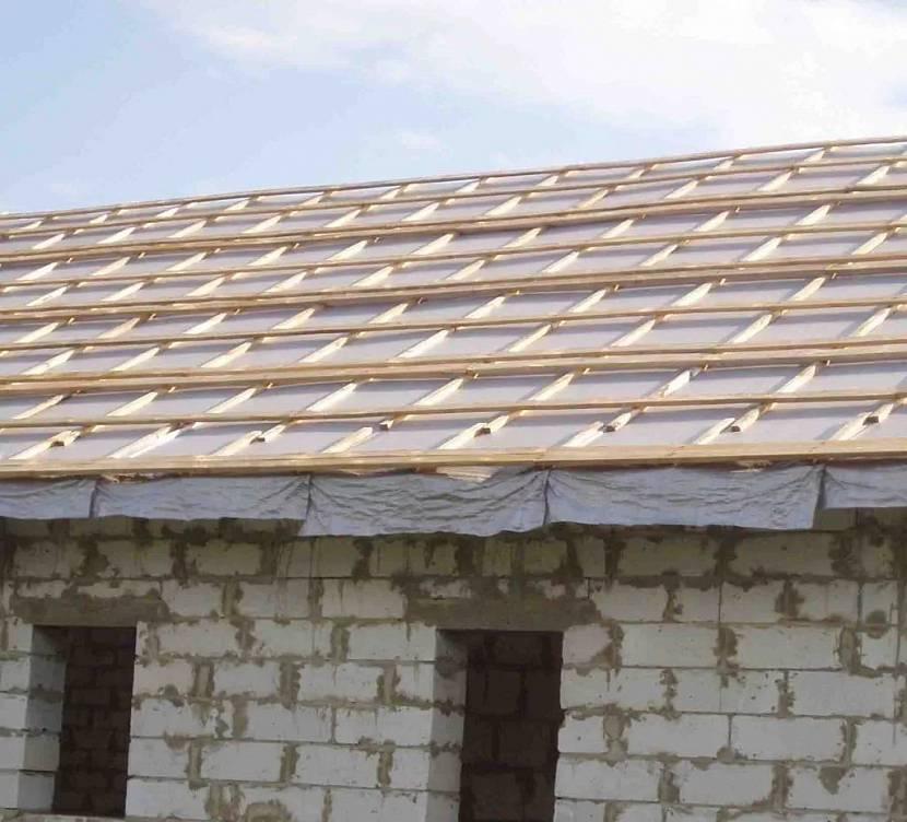 покрыть крышу шифером