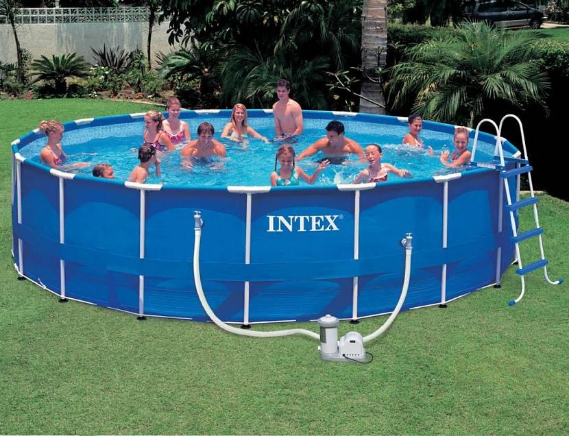 площадка под бассейн на даче