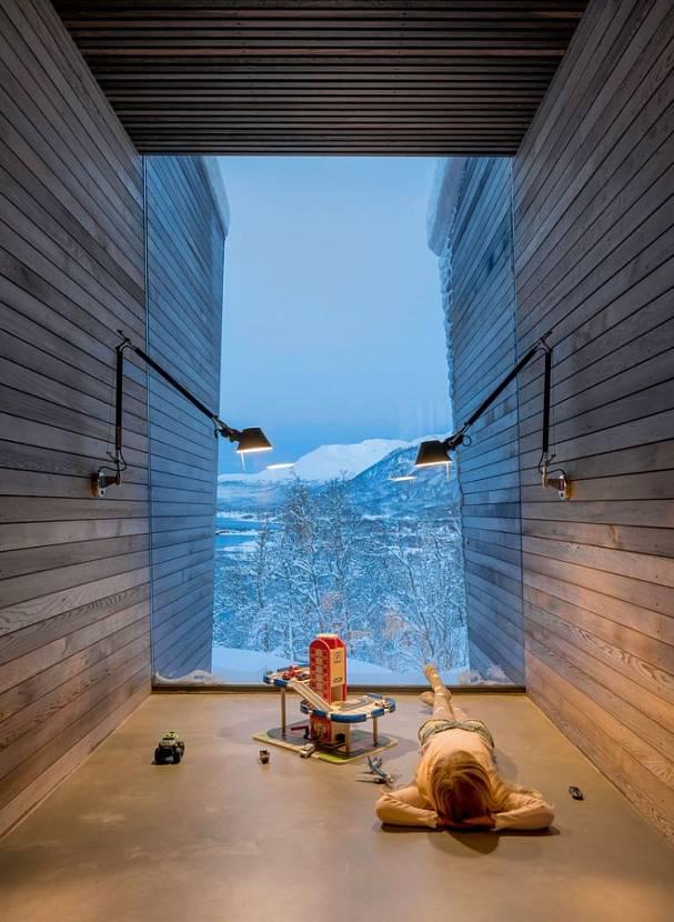 Норвежский модульный дом – подзорная труба