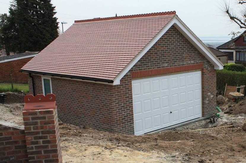 покрытие крыши гаража рубероидом