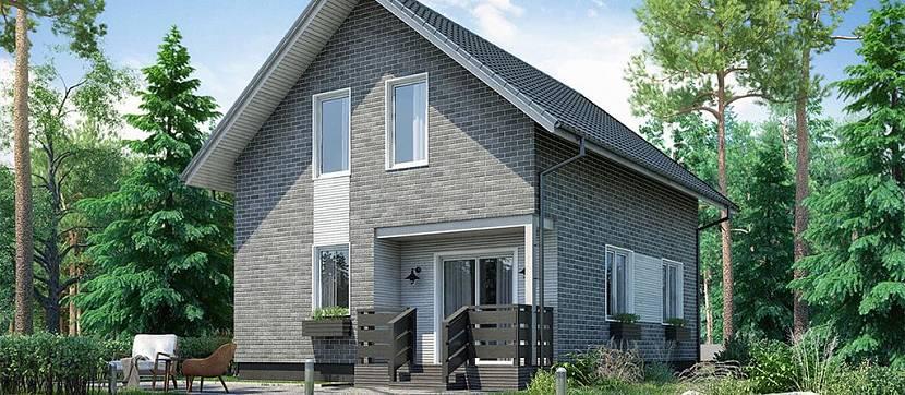 Фабричный дом по немецкой технологии