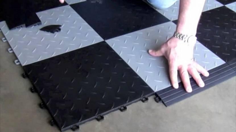 пол в гараже варианты покрытия