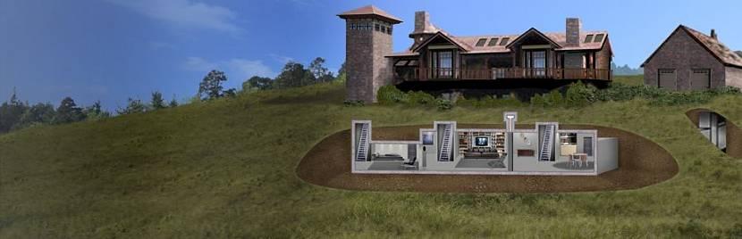 Можно построить полноценный подземный бункер