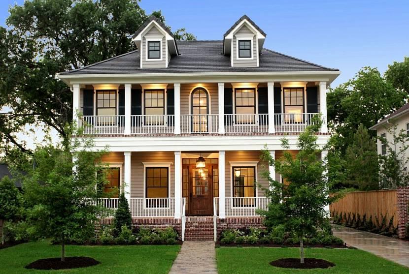 проекты американских домов