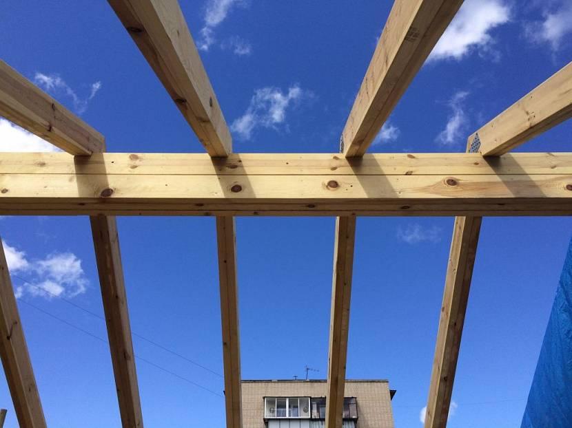 строение крыши
