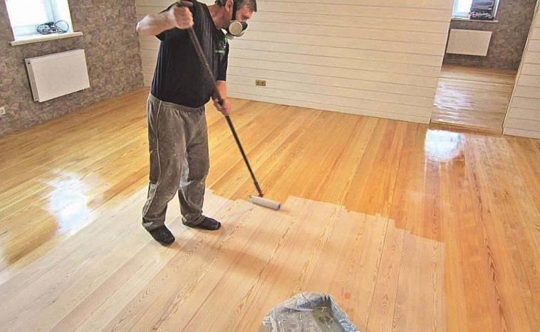 Краска для деревянного пола: чем лучше покрасить пол на даче