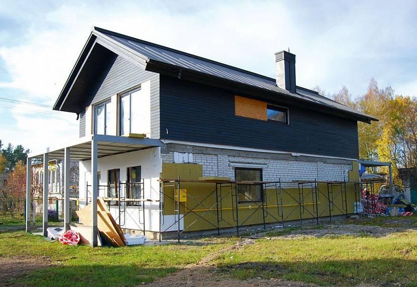 перестройка дома на даче фото