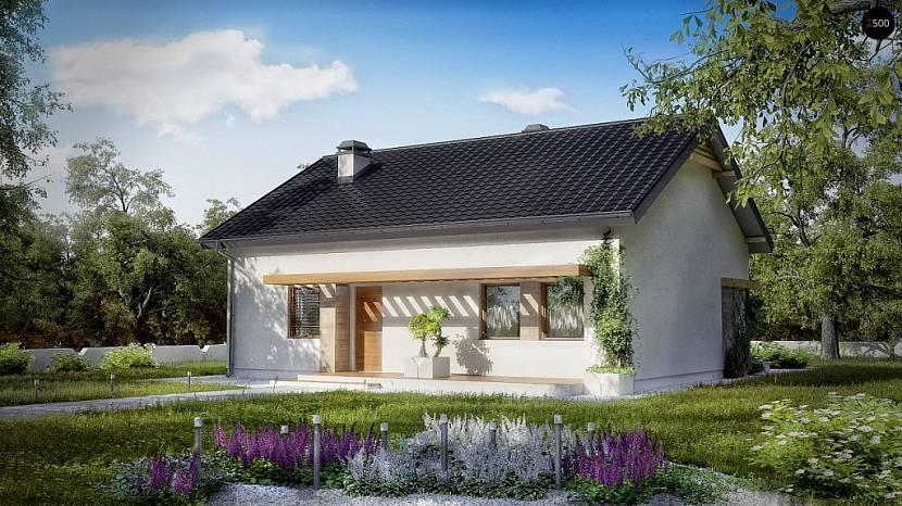 Проект дома из ячеистого бетона площадью до 100 кв.м