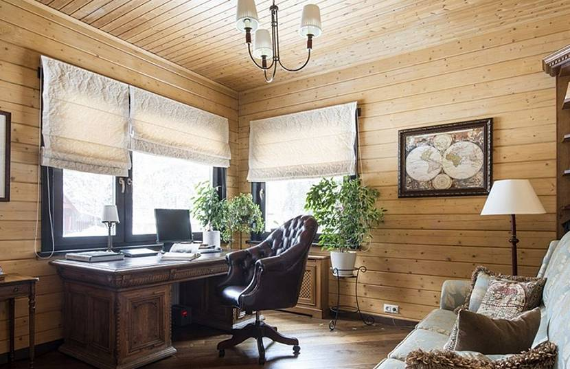 дизайн комнаты на даче с вагонкой