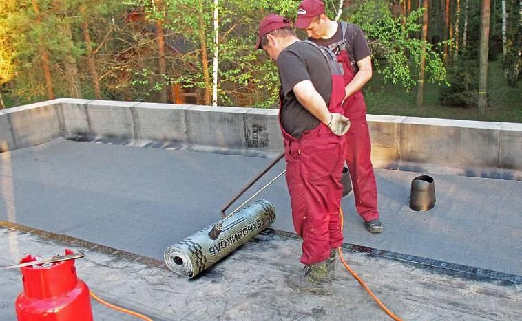как правильно класть технониколь на крышу