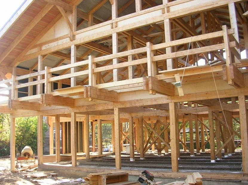 строительство домов по технологии фахверк