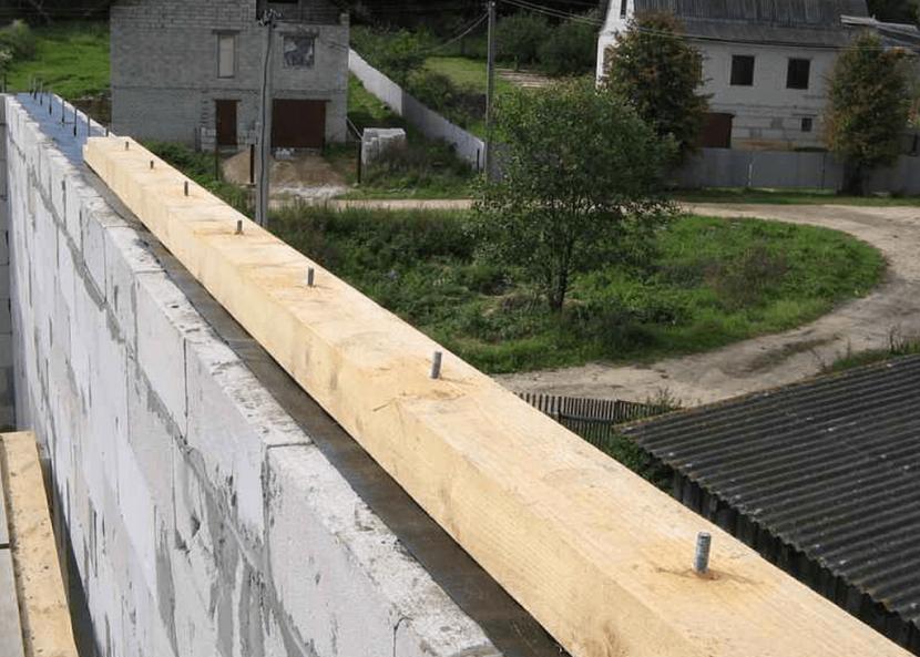 установка крыши на дом