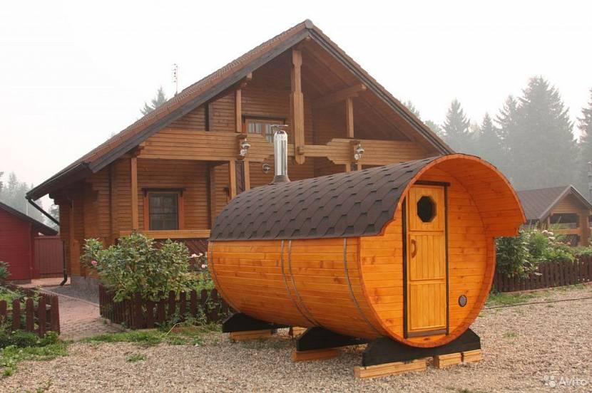 баня перевозная готовая