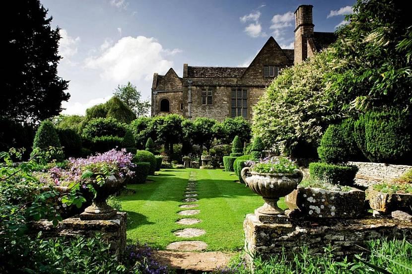 ландшафтный дизайн в стиле английского парка