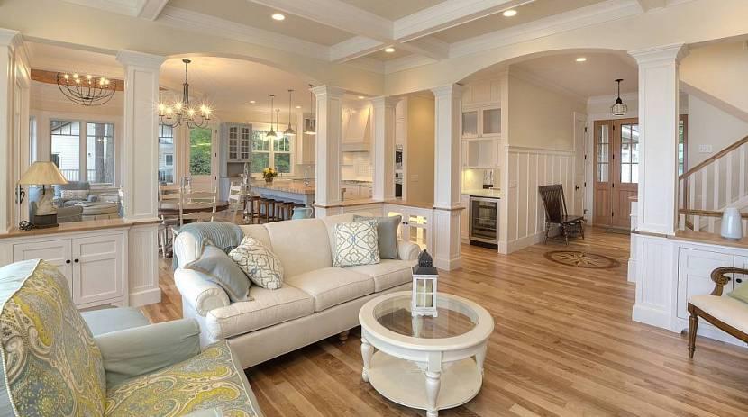 проекты американских домов и коттеджей