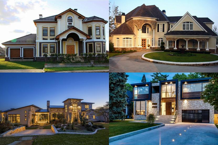 проекты элитных домов и коттеджей фото