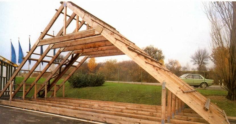 стропила для двухскатной крыши