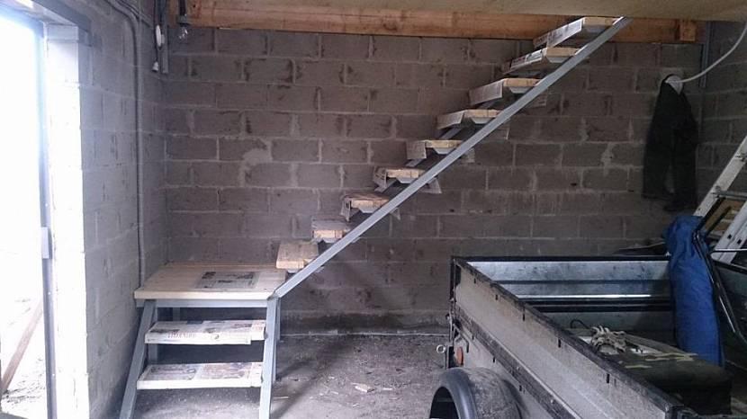 дом гараж проект первый этаж гараж второй жилой