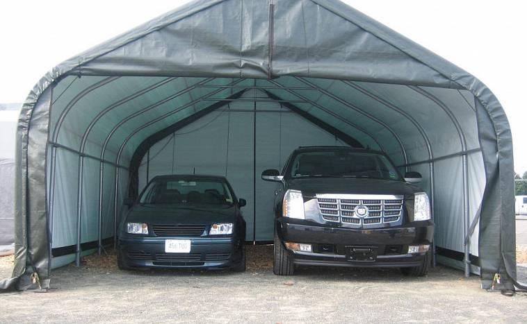 Переносной гараж для одного автомобиля цена