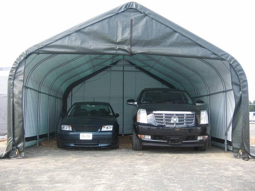 тентовые гаражи купить