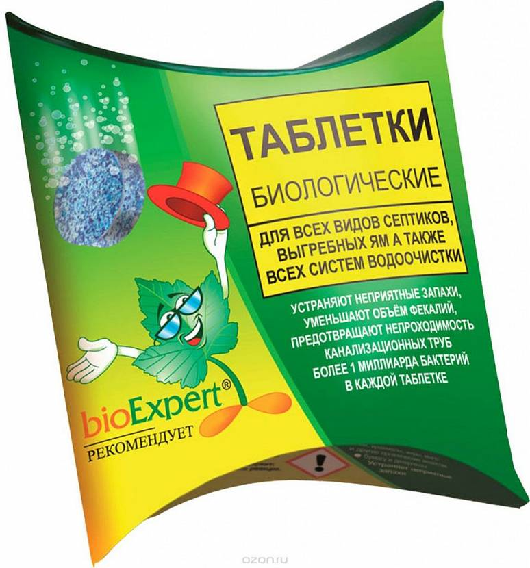 антисептик для туалета на даче