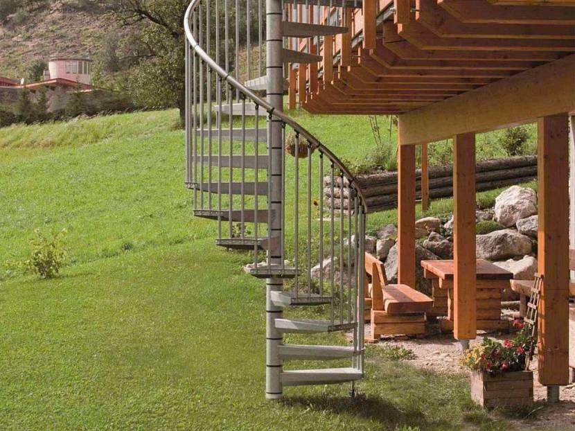наружные лестницы для дома