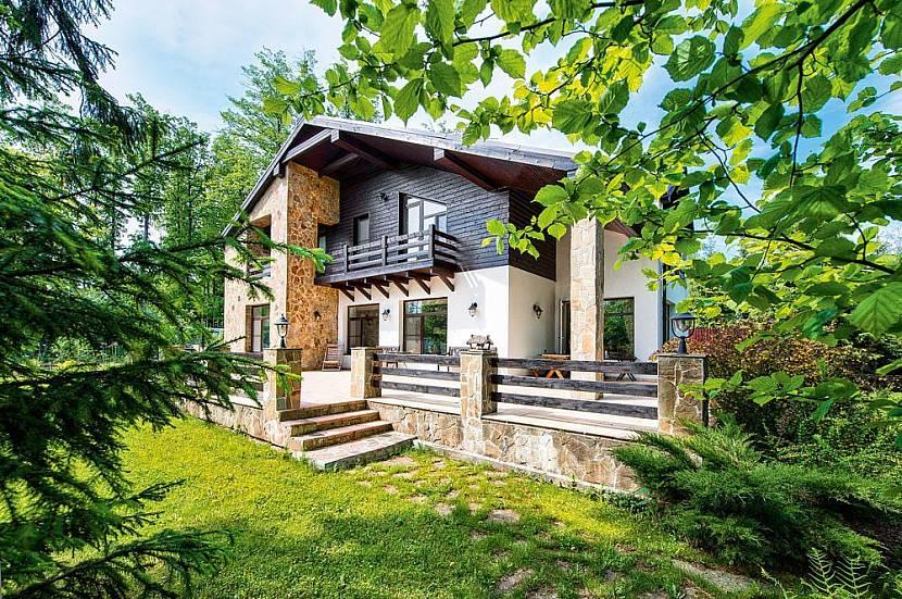 Дому для сезонного проживания важна красота ландшафта