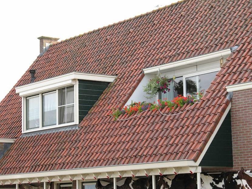 слуховое окно на крыше для чего