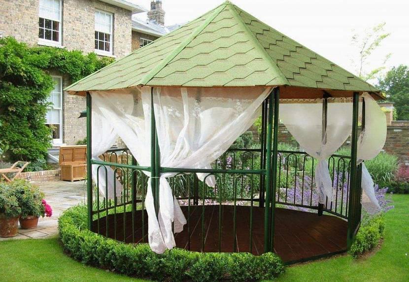 крыша для садовых беседок