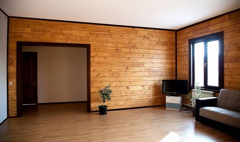 межкомнатные стены в деревянном доме
