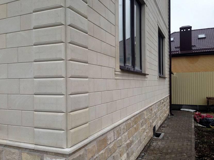 камень для фасада дома облицовка