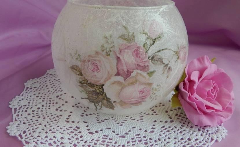 Пластиковые вазы после преображения