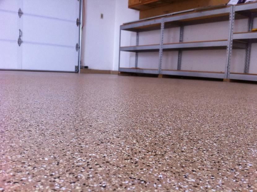 Сплошное окрашивание бетона