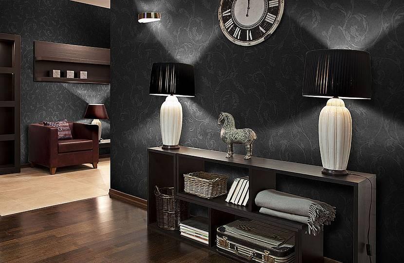 Мебель на темном фоне