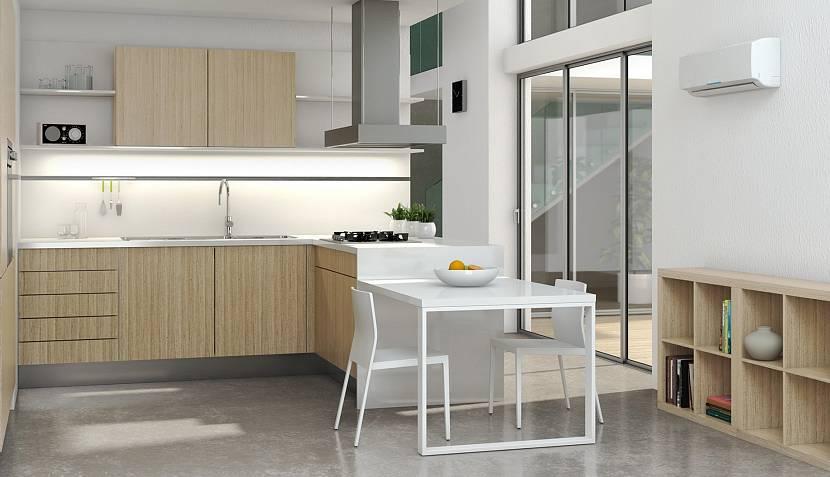 Сплит-система на кухне