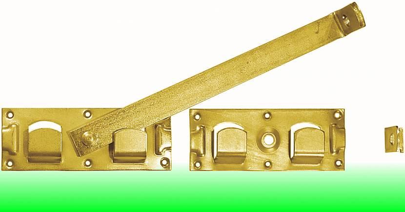 Простейший засов на ворота или дверь