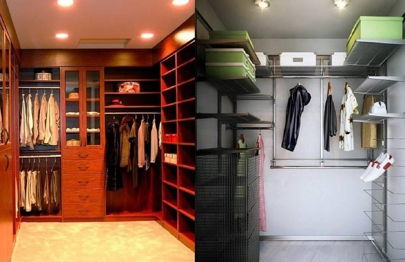 Свет в гардеробной
