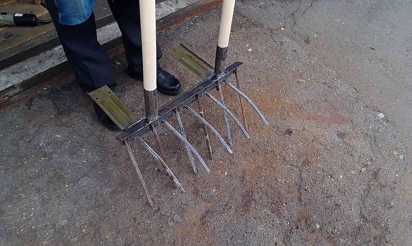 Самодельная лопата