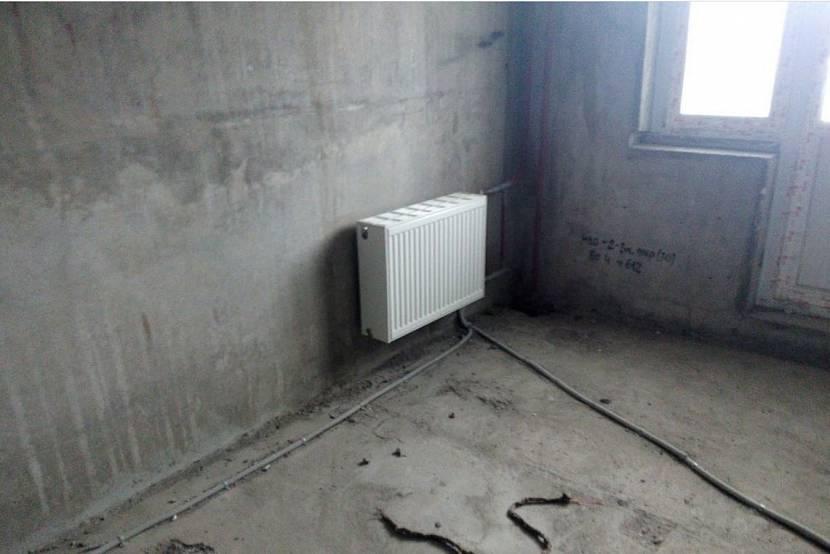 Неверное расположение радиатора