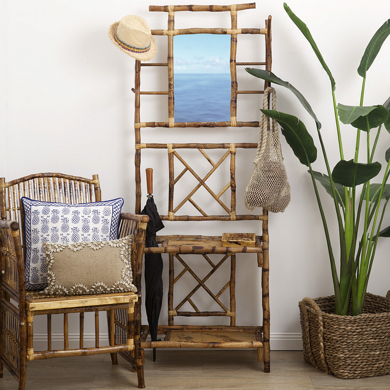 дом мебель из бамбука фото механизм устройства помогает