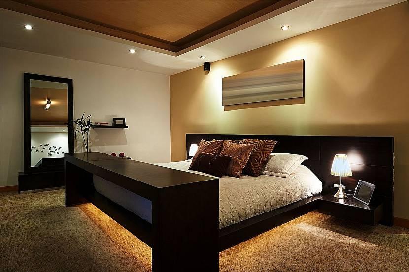 Диодная подсветка в комнате