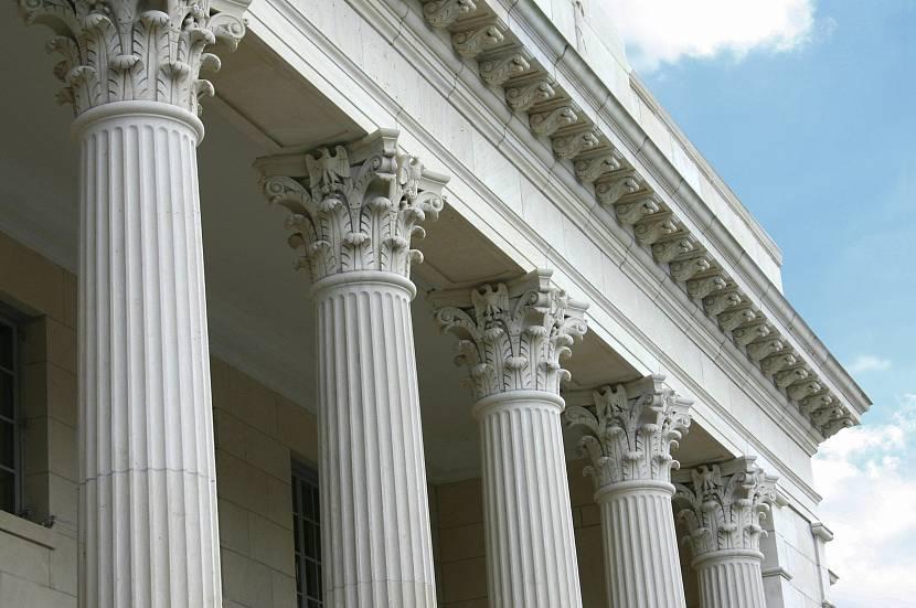 Пример колоннады