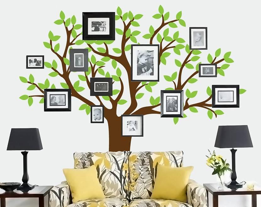 была генеалогическое древо из фотографий на стене вам понравился наш