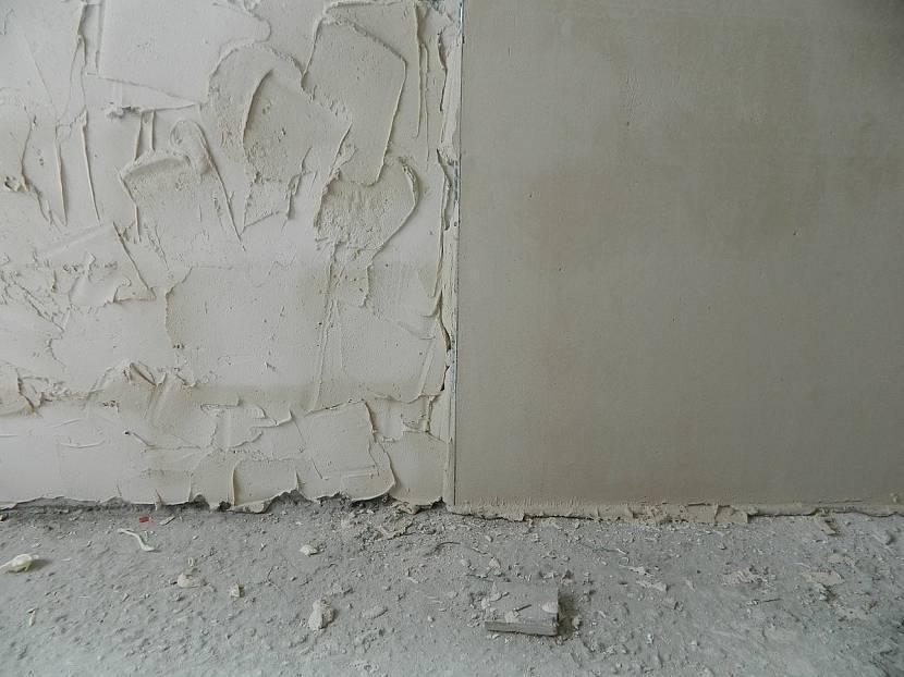 Нижний выравнивающий слой штукатурки