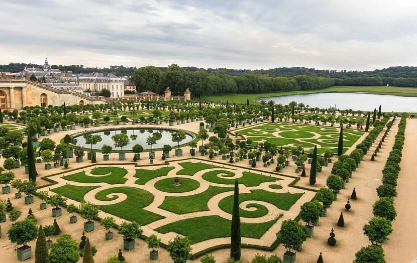 Сад дворца Версаль