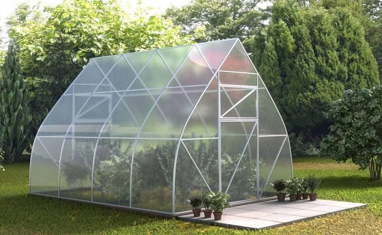 ширина поликарбоната для теплиц размер