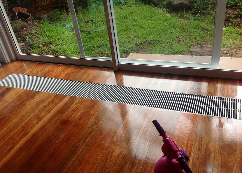 В каких помещениях можно устанавливать встраиваемые в пол радиаторы?