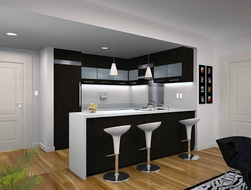 Картинки барные стойки в кухне фото