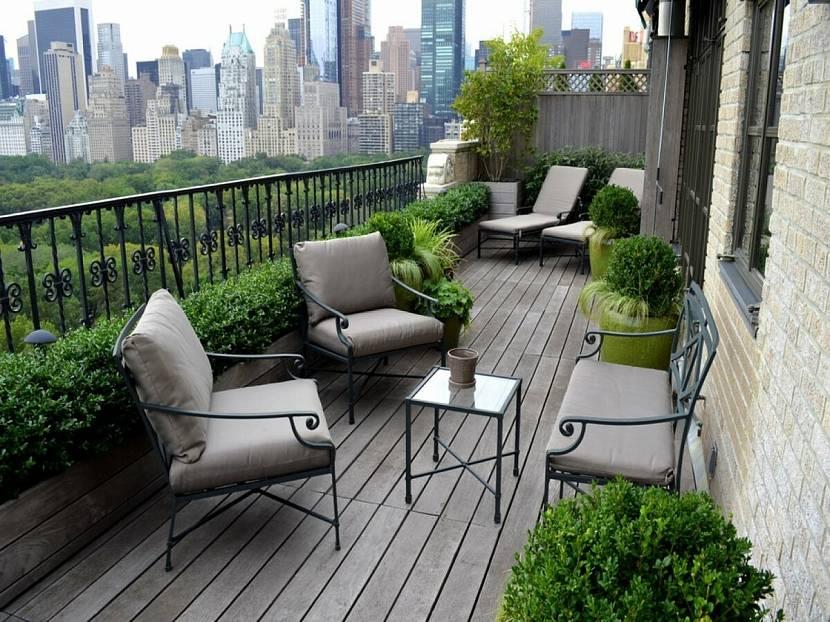 Зеленые балконы