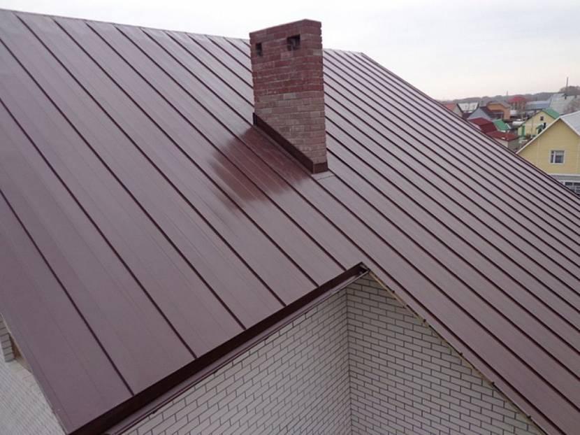 металлическая крыша для дома